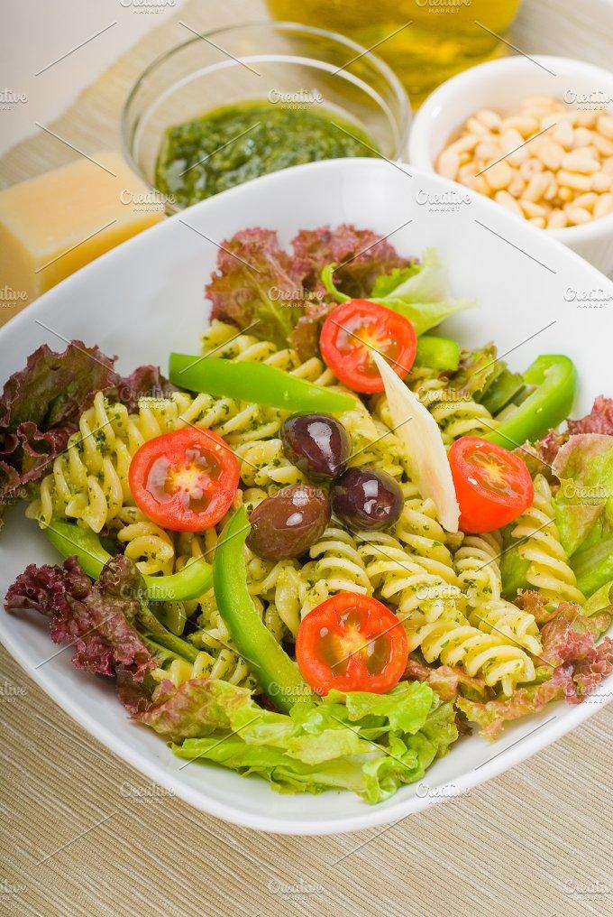 fusilli pasta salad and pesto 17.jpg - Food & Drink