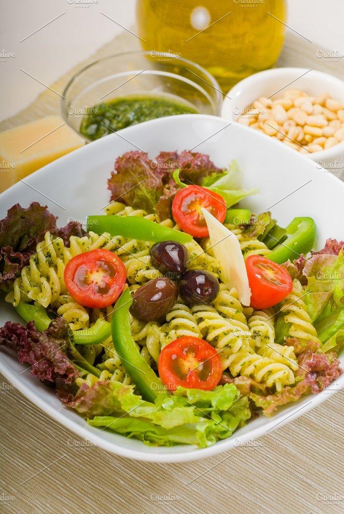 fusilli pasta salad and pesto 18.jpg - Food & Drink
