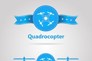 Two quadrocopter logotypes