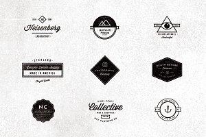 9 Vintage Typographic Logos