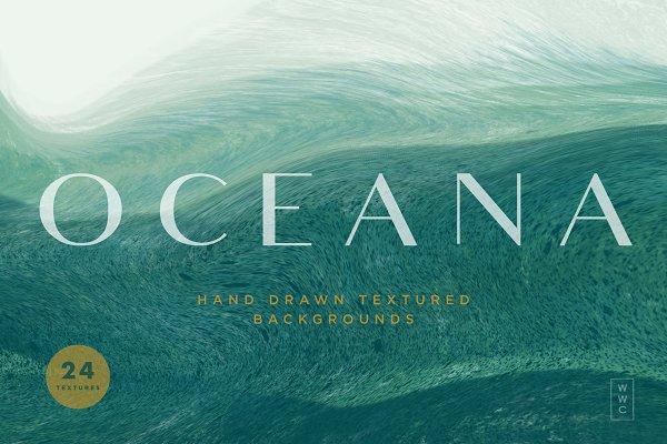 Oceana - Textured Backgrounds