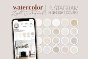 Natural Instagram Cover Icons
