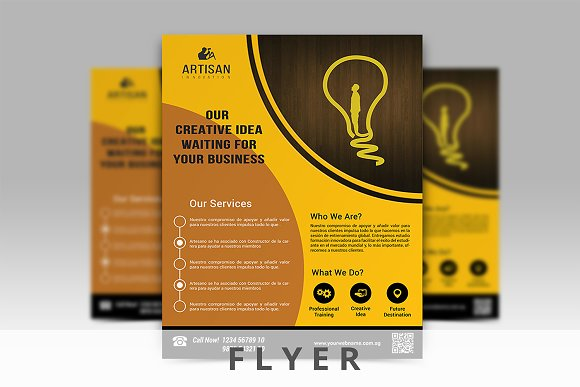 Corporate Business Flyer in Flyer Templates