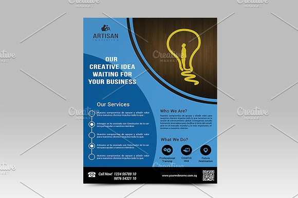 Corporate Business Flyer in Flyer Templates - product preview 1