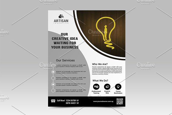 Corporate Business Flyer in Flyer Templates - product preview 2