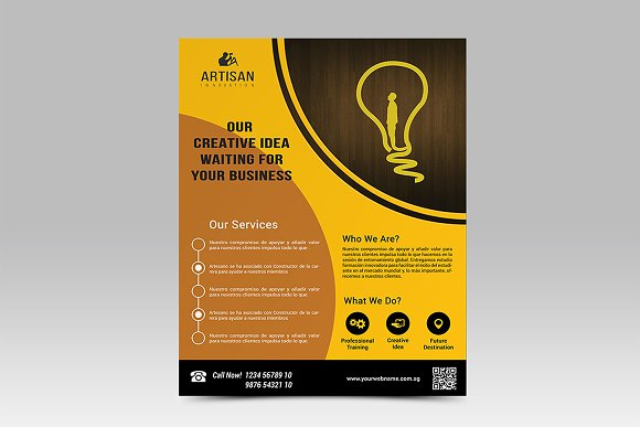 Corporate Business Flyer in Flyer Templates - product preview 3