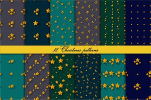 12 patterns with stars