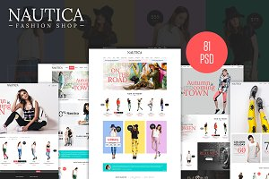 Nautica - Fashion eCommerce PSD
