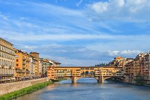 bridge Ponte Vecchio, Florence