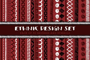 Ethnic Hand Drawn Patterns & Motifs