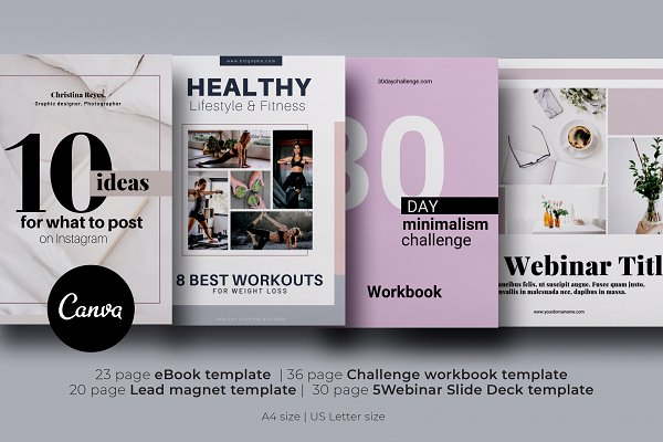 Canva Templates BUNDLE