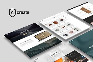 Create - Multipurpose WP Theme