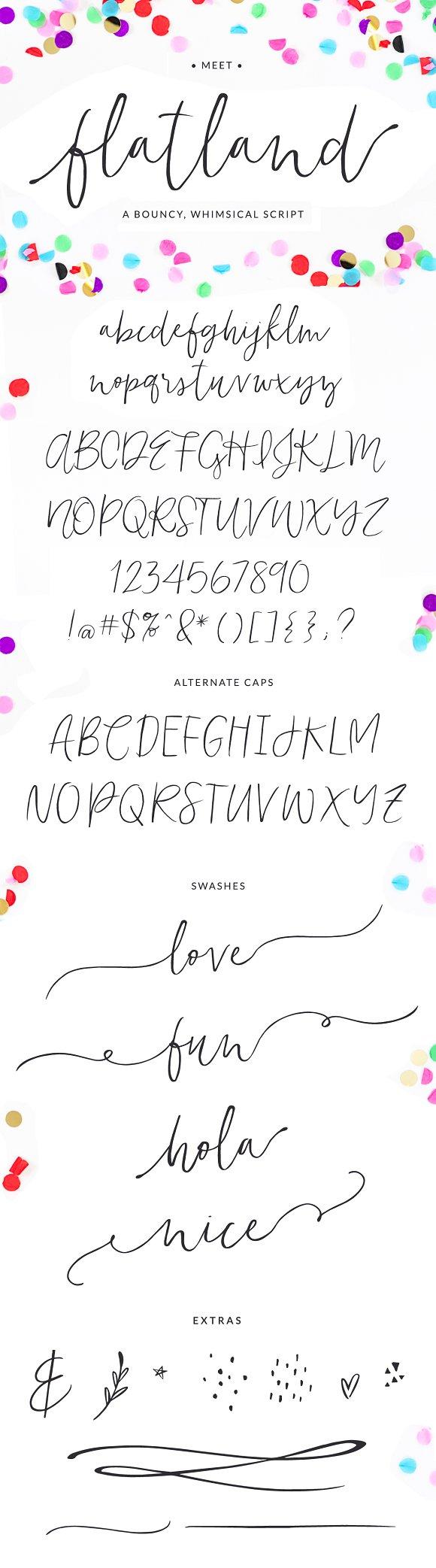 Flatland Font
