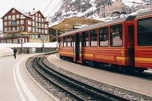 jungfraubahn train station