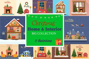 Christmas Home and Interior Set