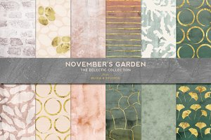 November's Garden Golden Glimmer