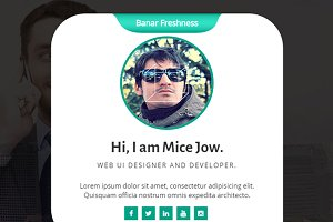 Resume/vCard Template