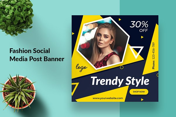 Fashion Instagram Social Media Post