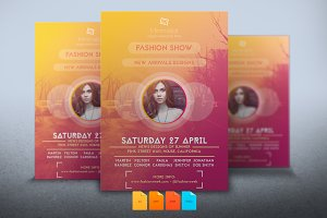 Flyer Fashion Show