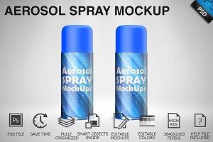 Aerosol Spray Mockup 04
