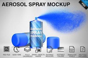 Aerosol Spray Mockup 05