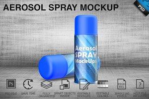 Aerosol Spray Mockup 06