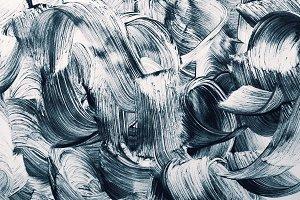 Grunge brush strokes background