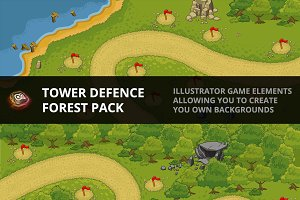 Tower Defence - Forest Pack 1