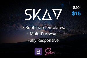 Skav / 3 Bootstrap Templates