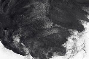 Grunge brush strokes paint design