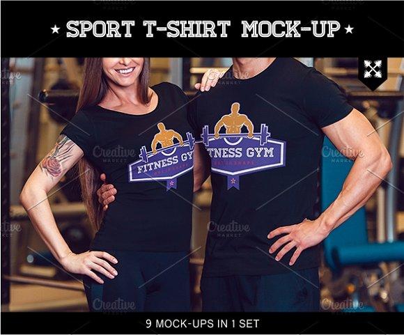 Download Sport T-shirt Mock-Up