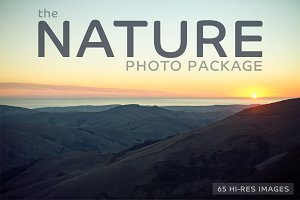 The NATURE Photo Package-65 Images!