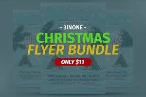 Christmas Flyer Bundle V01