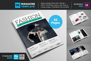 Magazine Template 05