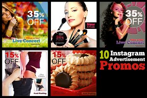 10 Instagram Advertisement Promos 1