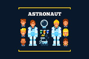 Astronauts and Their Stuff