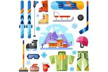 Winter Sports Equipment.