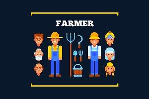 Farmer and Garden Items