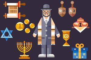 Hanukkah! Great Jewish Holiday.