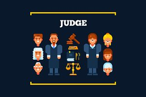 Judge and Judicial Sitting Stuff