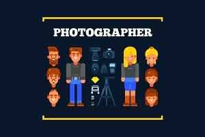 Photographers and Their Equipment