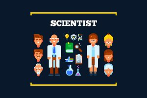 Scientists and Science Stuff