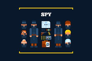 Spies and Their Stuff