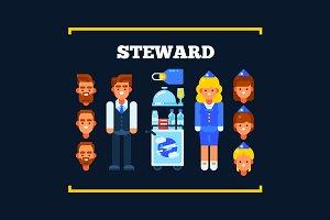 Stewart and Stewardess
