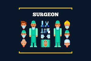 Surgeons and Surgical Tools
