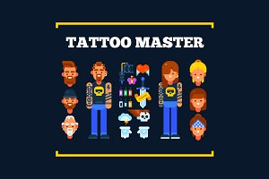 Tattoo Masters and Their Stuff