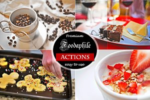 (50% off) Foodaphile3 -6 HDR Actions