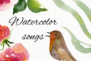 Watercolor songs