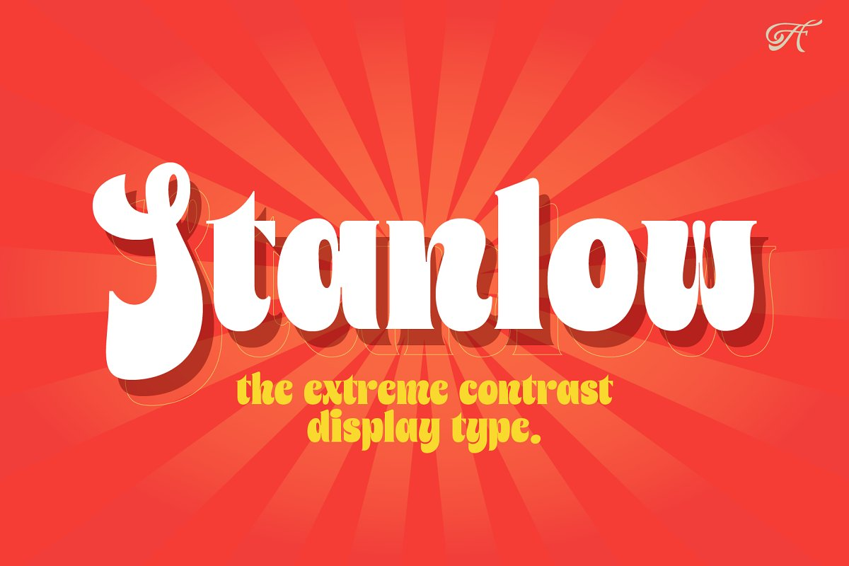 Stanlow in Display Fonts - product preview 8