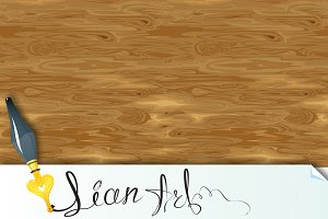 Seamless pattern - old wooden textur